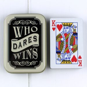 The Dapper Chap Playing Cards