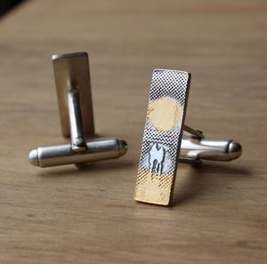 You, Me And The Sunset Cufflinks - cufflinks