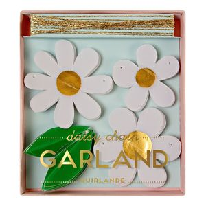 Mini Daisy Chain Garland - decorative accessories