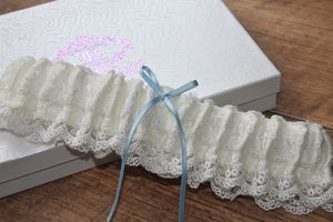 New 2015 'Beth' Vintage Inspired Bridal Garter
