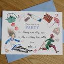 Alice In Wonderland Mad Hatter Tea Party Invitations