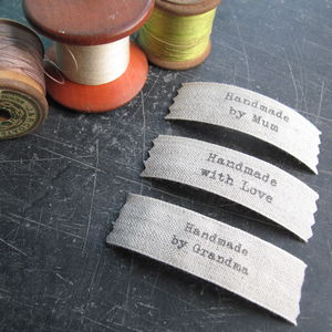Sew In Hand Made Labels - shop by category