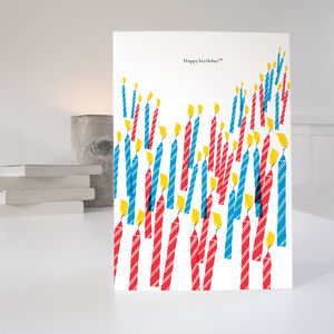 50 Candles 50th Birthday Card - birthday cards