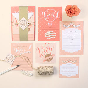 Luxury Wedding Stationery Kits
