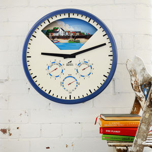 Tide Clock With Three Dials - clocks