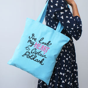 'I've Lost My Heart To Poldark' Tote Bag