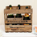 Six Bottle Wine Storage Crate