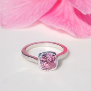 Pink Cocktail Ring