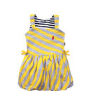 Stripe baby girl dress