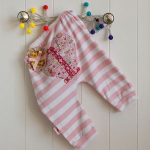 1st Birthday Baby Harem Leggings