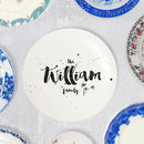 Personalised Family Name Ceramic Plate