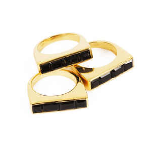 Gold Stacking Ring Equilibrium