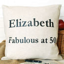 Birthday Cushion Square