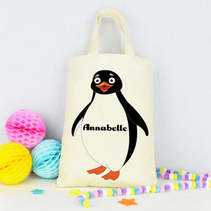 Personalised Childrens 'Penguin' Bag