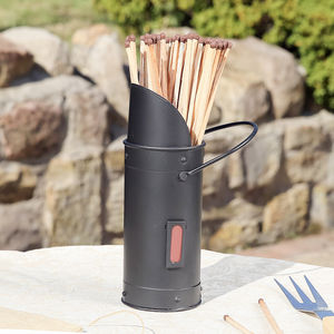 Barbecue Matches With Holder - fireplace accessories