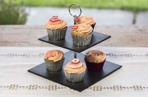 Welsh Slate Cake Stand - table decorations