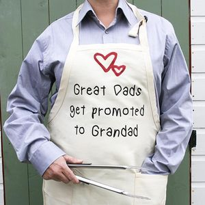 Cooking Apron For Grandparents - gifts for grandparents
