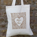 Personalised Tree Trunk Bag