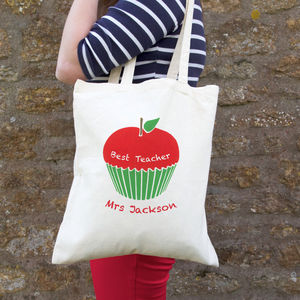 Personalised Teacher Bag - womens