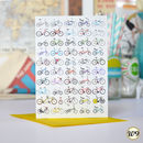 My Favourite Bicycle Bike Greetings Birthday Card