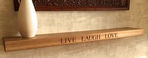 Personalised Oak Shelf - shelves & racks