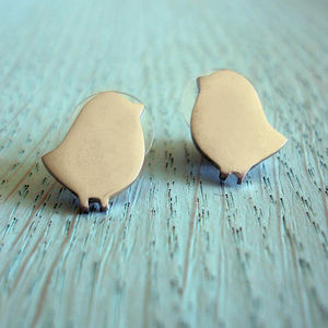 Bird Stud Earrings - earrings