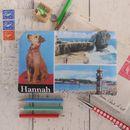 Little Dog Personalised Postcard Purse
