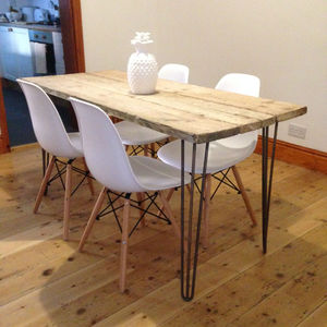 Reclaimed Scaffold Board Dining Table - dining tables
