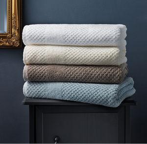 Personalised Honeycomb Bath Towel Honbt - bathroom