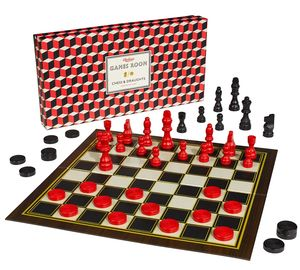 Chess And Checkers Set - board games & puzzles