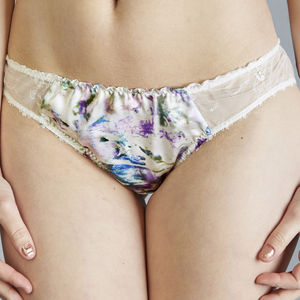 Anemone Knickers To Make Her Feel Special - women's fashion