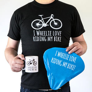 Bike Lover's Gift 'Wheelie Love My Bike' Bike Gift Box