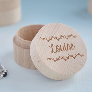 Personalised Ring Box - 18th birthday gifts