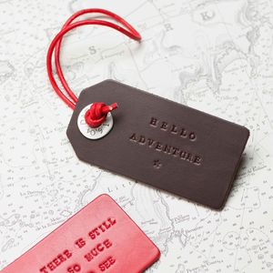 Personalised Polo Luggage Tag
