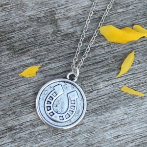 Lucky Token Charm Necklace - necklaces & pendants