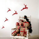 Christmas Reindeer Wall Stickers