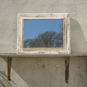 Reclaimed Wood Framed Mirror - mirrors