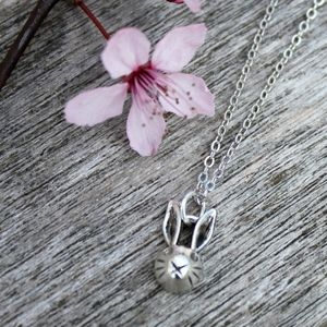 Rabbit Charm Necklace - children's accessories