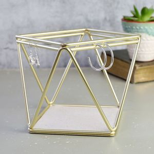 Gold Prisma Jewellery Stand - gifts for teenage girls