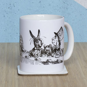 Alice In Wonderland 'We're All Mad Here' Mug - mugs