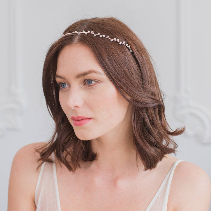 Wedding Hair Vine With Pearls And Crystals