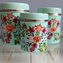 Butterfly And Bee Storage Canister