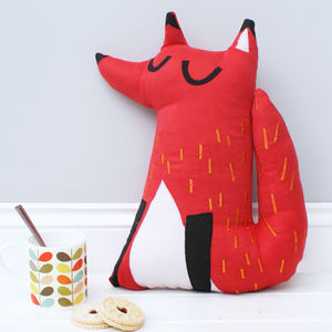 Fox Cushion - soft furnishings & accessories