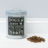Dog Treat Storage Jar - pets