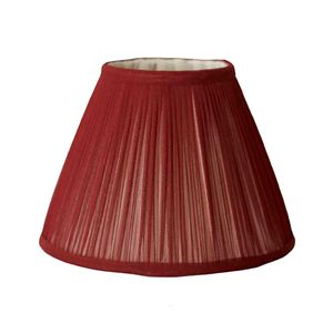 Marsala Chiffon Gathered Lampshade