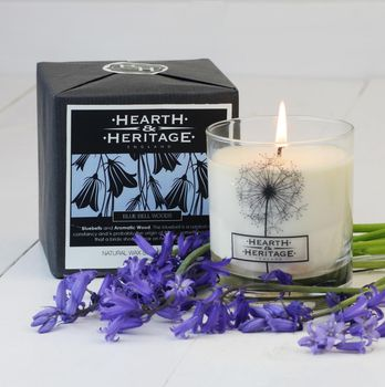 Bluebell Woods Natural Wax Scented Candle