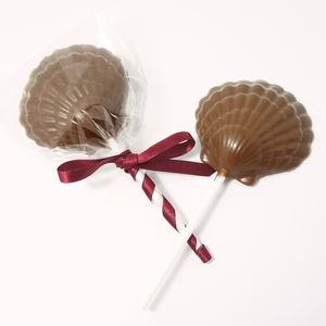 Three Little Mermaid Sea Salted Milk Chocolate Lollipop