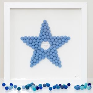 Personalised Star Framed Artwork