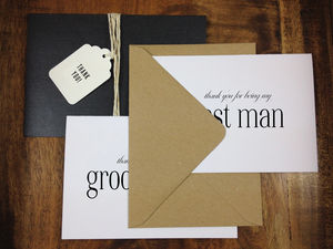 Best Man Or Usher Thank You Cards - what's new