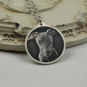 Personalised Dog Photo Necklace